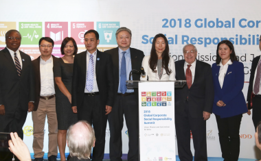 Global Leaders Pledge to Achieve SDGs at the Global CSR Summit held at U.N.