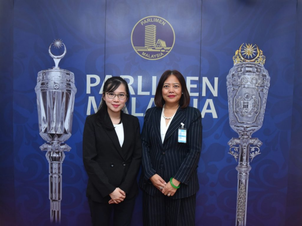 World Women's Organization ASEAN Summit: GCSRF President Jing Zhao Cesarone Attended The Malaysian Parliament To Co-organize 2020 World Women Conference