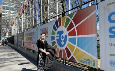 Global CSR Foundation's LAW Yee Ping at the United Nations CSW64