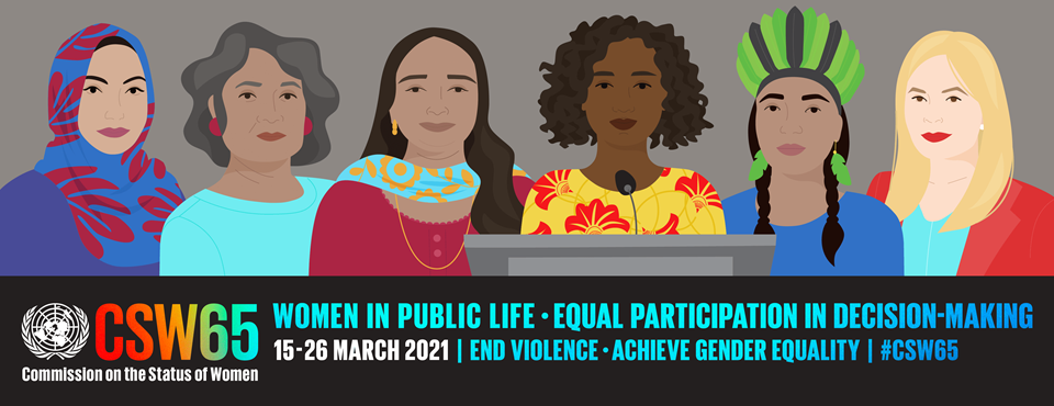 GCSRF Was Invited To Participate In The CSW 65(2021)